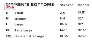 Canvas Lounge Pants Sizing